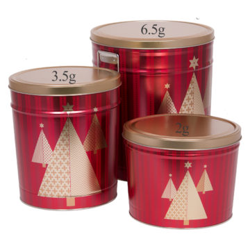 Holiday Tree Tins