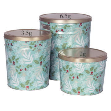 Winter Charm Tins